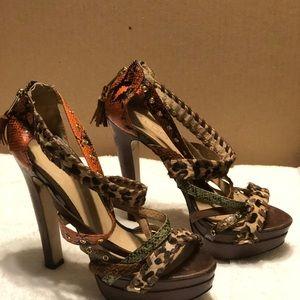 Shoes - ALDO PLATFORM PEEPTOE STILETTOS